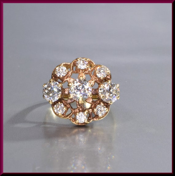 Victorian Ring  Victorian Engagement Ring Antique… - image 6