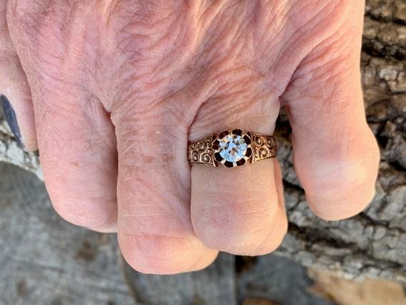 Victorian Engagement Ring Alternative Engagement … - image 4