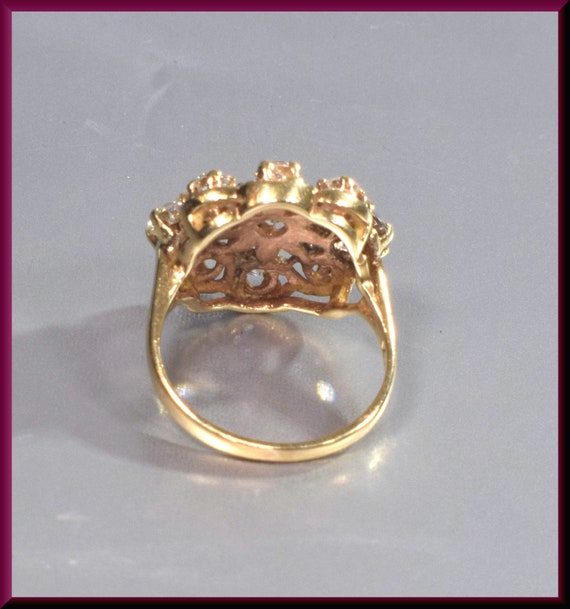 Victorian Ring  Victorian Engagement Ring Antique… - image 4