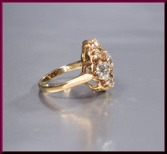 Victorian Ring  Victorian Engagement Ring Antique… - image 2