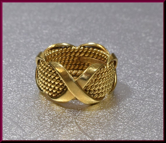 Tiffany and Co Ring, Tiffany Gold Ring, Tiffany Go