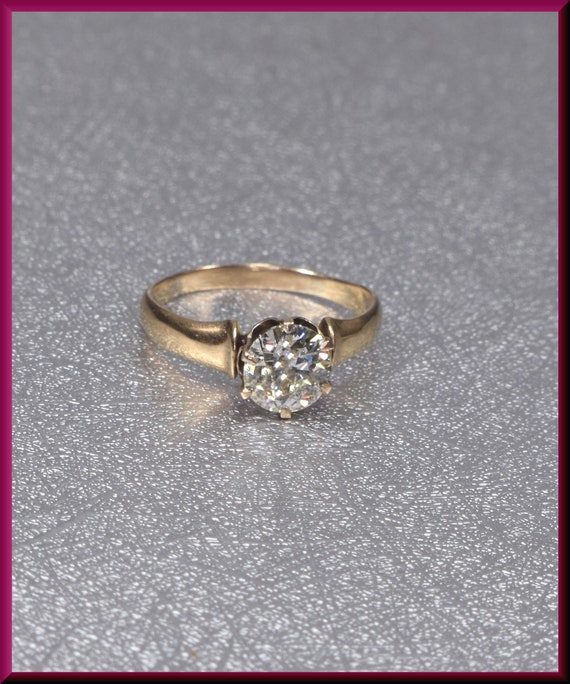 Victorian Engagement Ring Alternative Engagement … - image 2