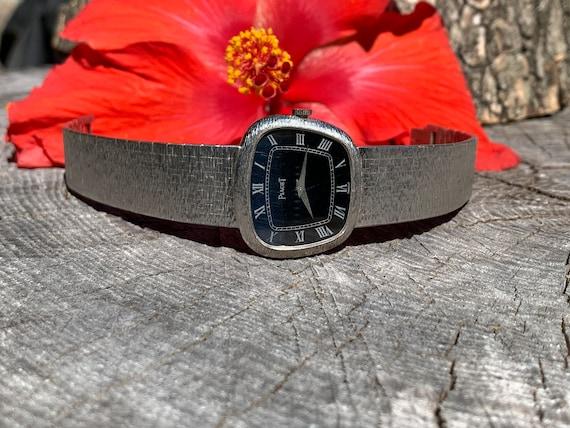 Piaget Gold Watch,  18K White Gold Watch. Piaget M