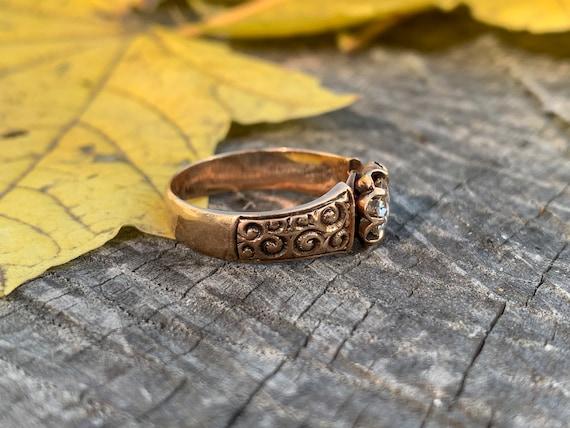 Victorian Engagement Ring Alternative Engagement … - image 3