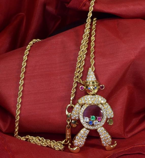 Chopard Happy Diamond Clown Pendant, Diamond Clown