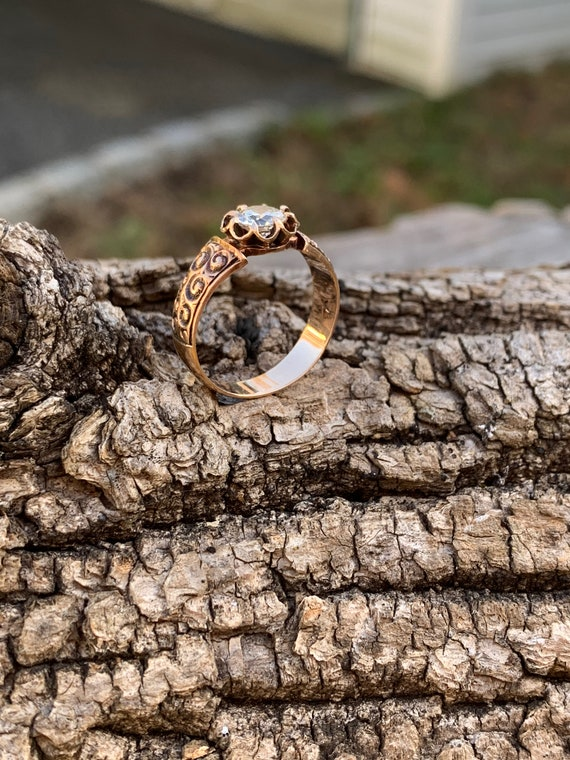 Victorian Engagement Ring Alternative Engagement … - image 8