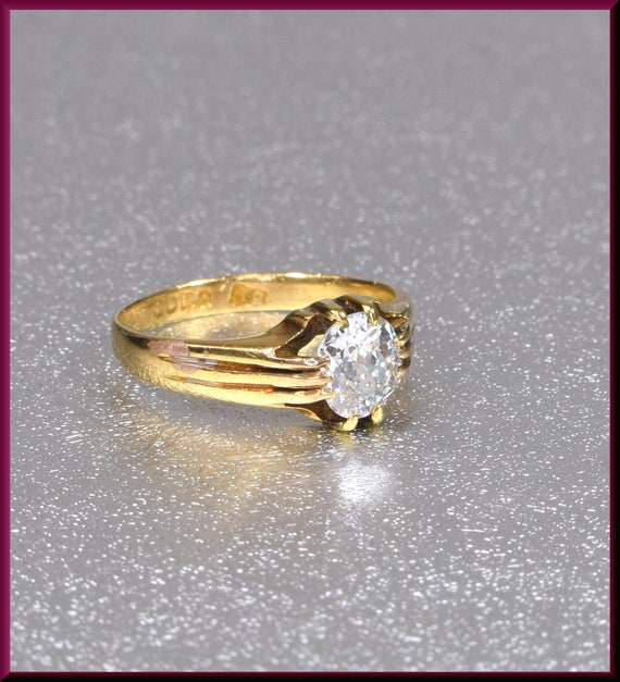 Victorian Engagement Ring Alternative Engagement … - image 1