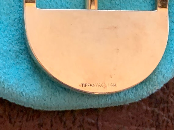 Tiffany & Co Belt Buckle, Yellow gold Belt Buckle - image 3