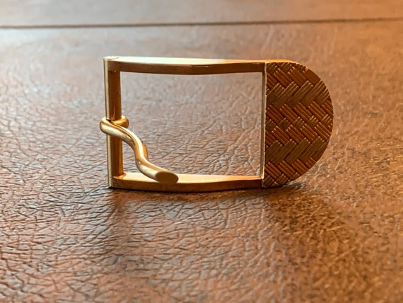 Tiffany & Co Belt Buckle, Yellow gold Belt Buckle - image 4