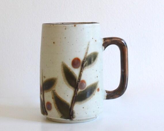 Vintage Japanese Stoneware Otagiri Mug Bittersweet Pattern