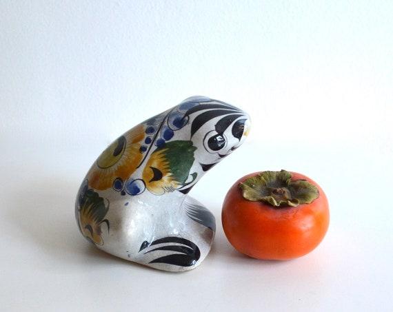 Vintage Mexican Ceramic Frog