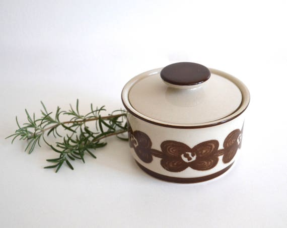 Vintage Sango Ceramic Stoneware Sugar Bowl by Design 4