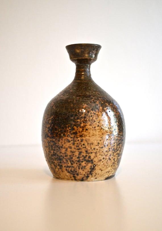 Mid Century 1970's Ceramic Bud Vase