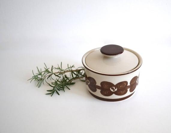 Vintage Sango Ceramic Stoneware Sugar Bowl by Design 4