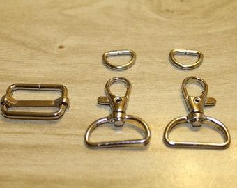 110 9mm DIY Metal Chain Shoulder Crossbody Purse Bag Handbag Strap Handle Replacement Silvertone