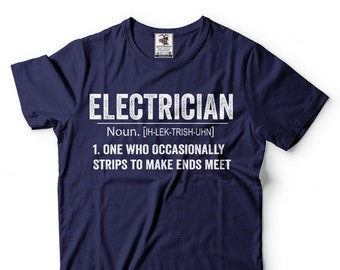 My Electrician Husband is The Most Handsome and Amazing Man T-Shirt Electrician Gift Idea T-Shirt