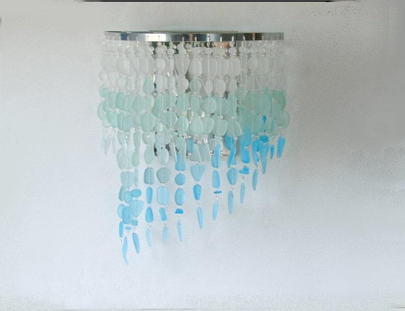 Mare parete applique costiera decorazione vetro spiaggia etsy