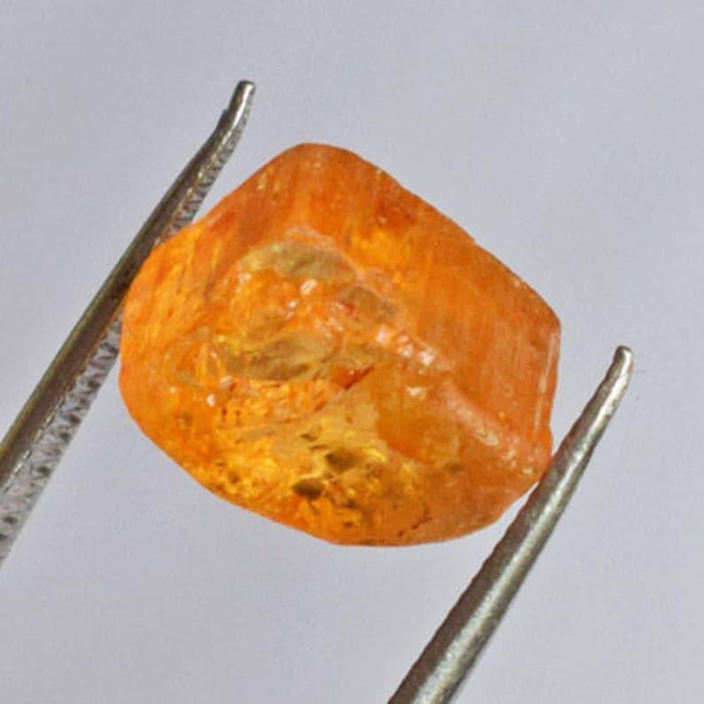 Gorgeous Natural Imperial Orange Topaz Rough Gemstone Crystal Mineral Specimens Brazilian Topaz AG-7982 Wholesale Price Semi Precious