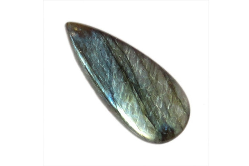 Handmade Cabochon AG-2437 Perfect Quality 52CT Blue Labradorite Cabochon Stone For Pendant Loose Semi Precious Gemstone Meditation Stone