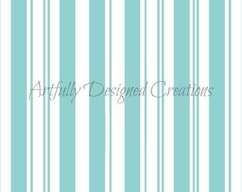 Candy Cane Stripes Background Stencil