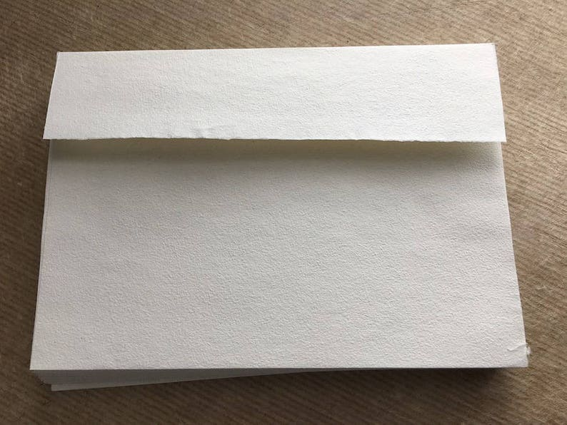 FOLDED /& MATCHING  WHITE C6  ENVELOPES A6   PLAIN WHITE CARD BLANKS