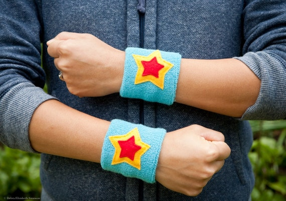 One Pair 3 Super Hero WRIST BANDS WRIST Cuffs Sweat | Etsy