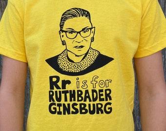RBG Shirt, Notorious RBG Shirt, Ruth Bader Ginsburg Shirt, Ruth Bader Shirt - Kids Gift Set