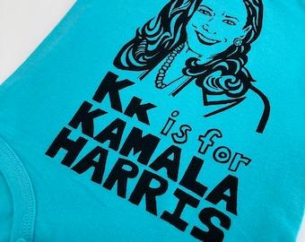 Feminist Baby Onesie Kamala Harris Gift Set with Screen print