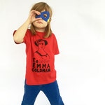 Feminist Kids Shirt - Emma Goldman T-Shirt & Screenprint // Kids Gift Set