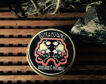 Rosewood & Patchouli Solid Fragrance