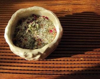Dream Salts for the Bath >> Relaxation & Vivid Dreaming >> Herbal Salt Soak >> 4 oz