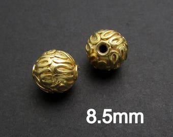 1 Pc, 24K Gold Vermeil Beads