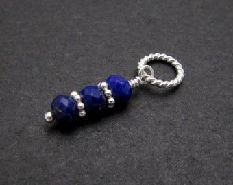 1 Set, Lapis Lazuli Charms
