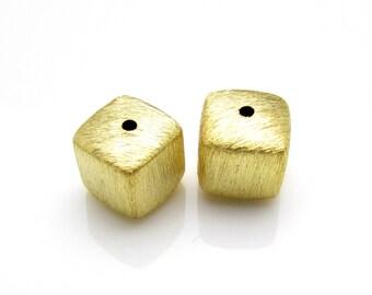 1 Pc, 6mm, 24K Gold Vermeil Bead