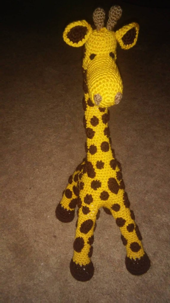 Pattern Only Diy Crocet 23 Giraffe Stuff Toy Home Living Toy Decorations