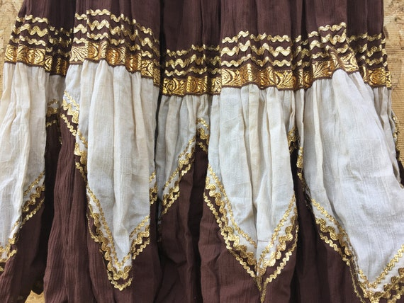 Vintage BOHO Western Women's top/skirt - image 2