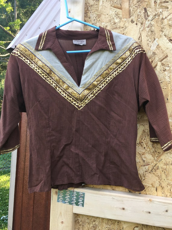 Vintage BOHO Western Women's top/skirt - image 3