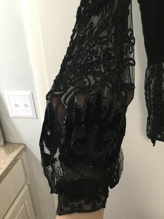 ANTIQUE VICTORIAN lace blouse 1800's - image 3