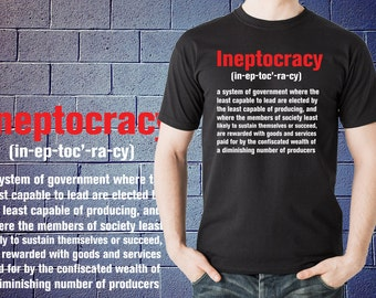 Ineptocracy Definition Royal Adult Long Sleeve T-Shirt