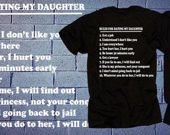 regels voor dating mijn dochter t-shirt kaufen