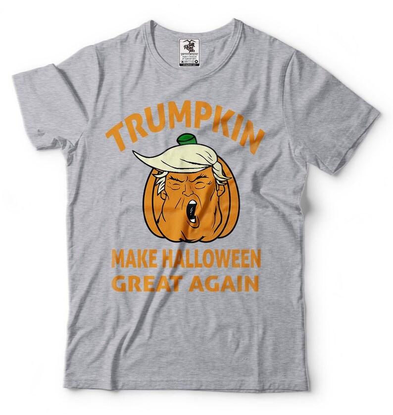 3510d22c99e Trumpkin Halloween T shirt Make Halloween Great Again Funny