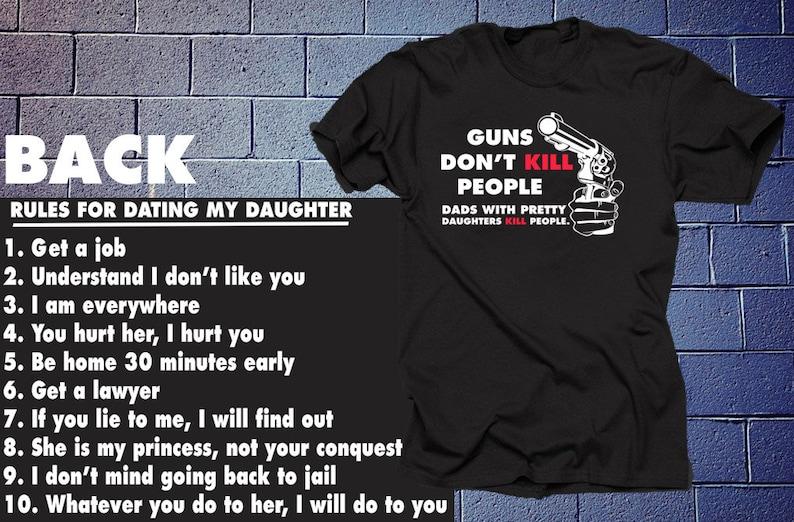 Die 8 Regeln der Datierung meiner Tochter
