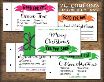 kids coupon book printable gift idea instant download diy pdf print birthday coupons easter coupon book vouchers child reward coupons