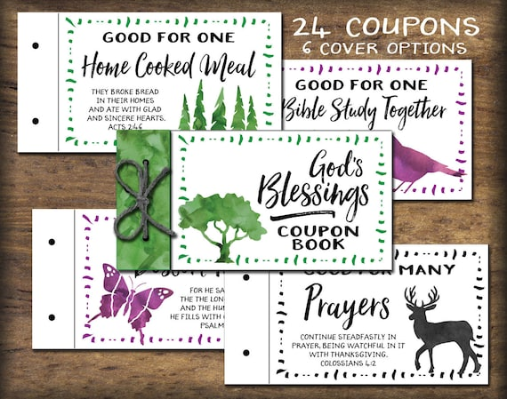 photograph about Printable Bible Verses Pdf named Christian Coupon E-book printable. Bible verses. Fast obtain. Do it yourself PDF print. Take pleasure in vouchers. Present for spouse, spouse, little one, mother or father, pal
