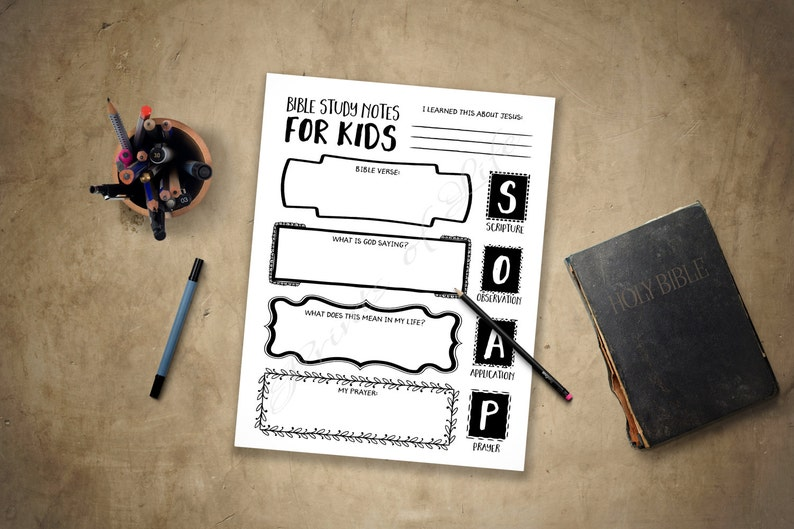 photograph relating to Printable Bible Devotions for Kids identify Bible Analysis Notes for Children. PDF printable. Cleaning soap. Boys, females, youth, teenagers. Fast down load. Worksheet magazine marketing consultant planner log. Scripture