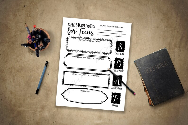 photo regarding Printable Daily Devotions for Youth titled Bible Investigation Notes for Young people. PDF printable. Quick down load. Cleaning soap. Boys, women, young children, youth, youngsters. Worksheet magazine lead planner log.