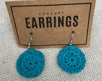 Round Dangle Earrings Made to Order