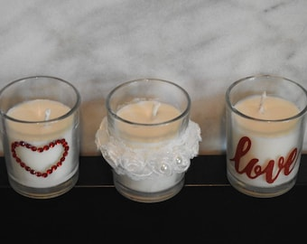 Customized Seasonal Candle -  party supplies celebration candle - party supply decoration candle