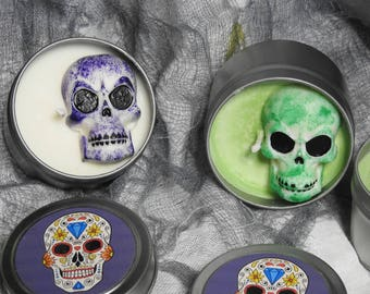 Customized holiday Seasonal candles - Halloween, party supplies, decorations candles