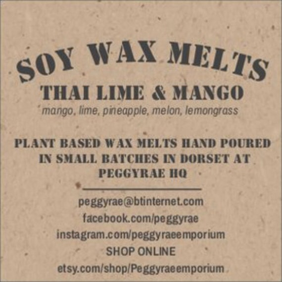 10 Luxury Designer Highly Scented Soy Wax Melt Favour Gift Inspired Jo Malone Thai Lime and Mango New Home Wedding and Birthdays